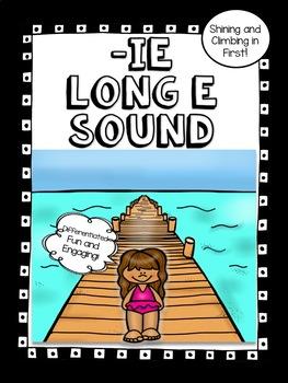ie Vowel Team Long e Sound - No Prep! Word Work!