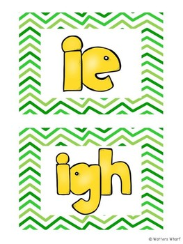 ie and igh long vowel activities