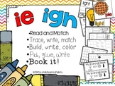 ie igh - 5 Interactive phonics activities
