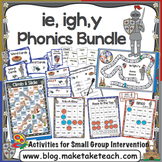 ie igh y Activities - the Big Phonics Bundle