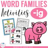 ig word family mini pack