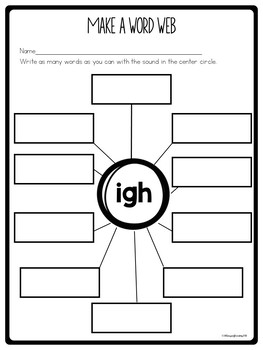 Worksheets, Games and Printables for the Trigraph igh