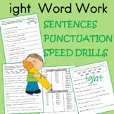 ight  word work
