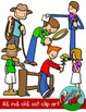 Phonics ILD, IND, OLD, OST / Word Families Clip art