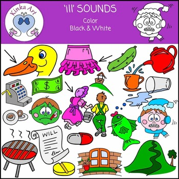 ill Sounds Clip Art