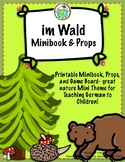im Wald In the Forest German Printable Book and Mini Theme Pack