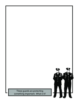 imagine! Coloring Page: Mystery of the Guards