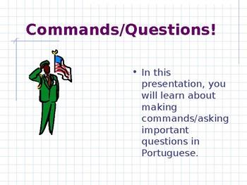 important questrions/commands