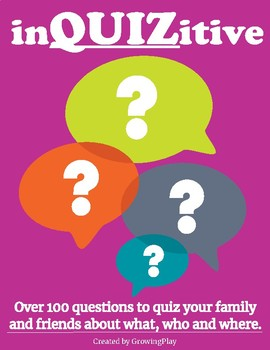 inQUIZitive Questions to Ask Friends and Family