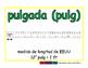 inch/pulgada meas 2-way blue/verde