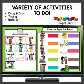 ind Word Family Activities