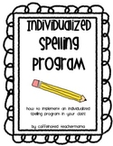 individualzed Spelling Program
