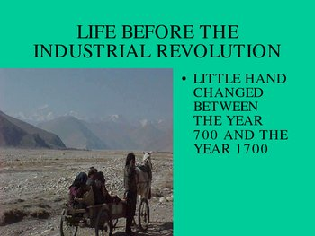 industrial revolution causes and effects