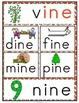 'ine' Word Family Long Vowel Word Work