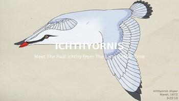 info- on an extinct bird called ichthyornis