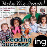 ing Word Family: Intervention, Homework, Morning Work, Centers,