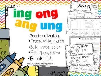 ing ang ong ung - 5 Interactive Activities
