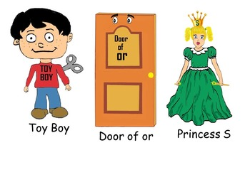 Kinder phonics! tips and tricks with stories, characters and clipart