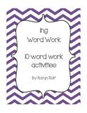 ing word work