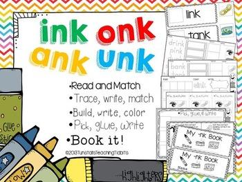 ink ank onk unk - 5 Interactive Activities