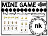 ink ank onk unk Phonics Game