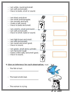 inquiry skills test