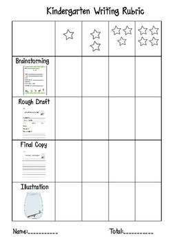 insect Writing Activity with Rubric