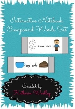 Interactive Notebook Compound Words