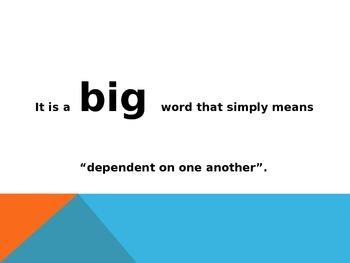 interdependence powerpoint