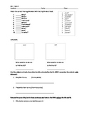 interrogative words and direct/indirect object pronouns