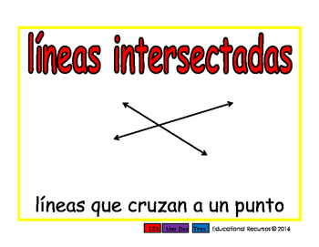 intersecting lines/lineas intersectadas geom 2-way blue/rojo