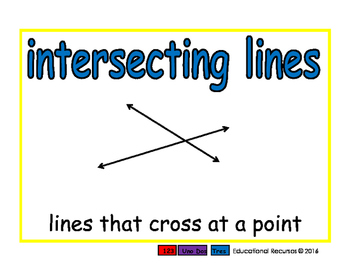intersecting lines/lineas intersectadas geom 2-way blue/verde