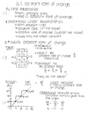 intro to linearity notes by section