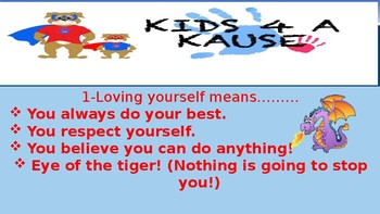 introduction to Kids 4 a Kause-Positive Power