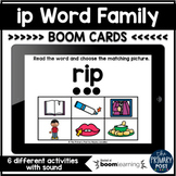 ip Word Family Boom Cards™   Distance Learning