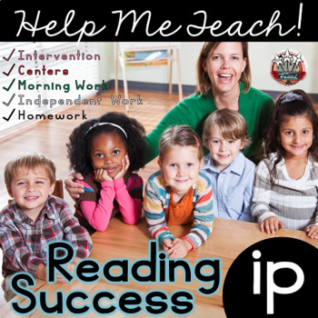 ip Word Family: Intervention, Homework, Morning Work, Centers,