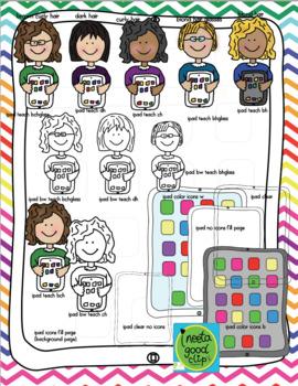 ipad Cute Kids clip art set by Anita Goodwin   Teachers ...
