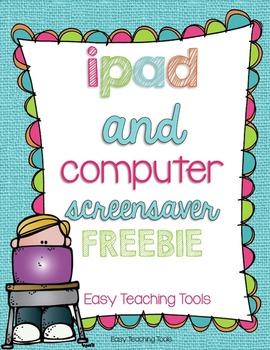 ipad and computer screensaver FREEBIE {#1-8}