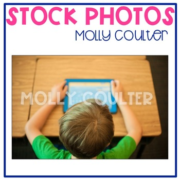 Stock Photo: Student With iPad #2 -Personal & Commercial Use