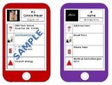 iphone Class Info Cards