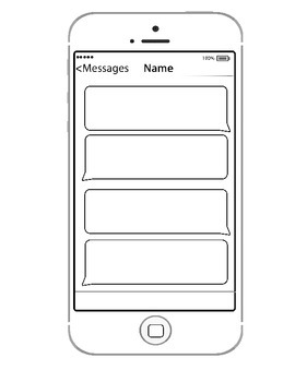 iphone template for Exit Slip or Total Participation Technique