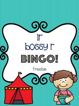 ir Bossy R Bingo Freebie! [5 playing cards]