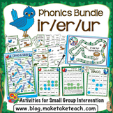 ir er ur Activities - The Big Phonics Bundle
