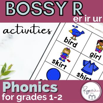 ir/er/ur r controlled vowels word work activities