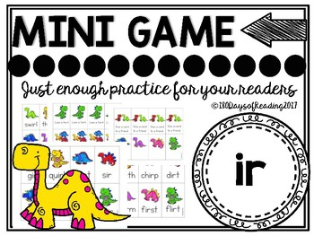 ir r-controlled Phonics Game