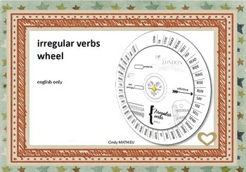 Verb Wheels Teaching Resources   Teachers Pay Teachers
