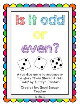 is it odd or even? {freebie!} 2.OA.C.3