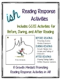 ish by Peter H. Reynolds—Growth Mindset Reading Response Activities (CCSS)