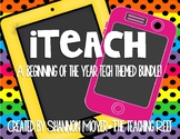 iteach {A Classroom Tech Theme Bundle}