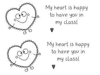Happy Heart Note